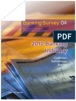KPMG 2010 Banking Survey Report Brochure