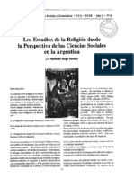 Soneira Abelardo_Estudios de La Religion en Argentina