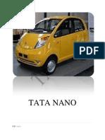 The Tata Nano is a City Car Manufactured by Tata Motors.docxshreshi