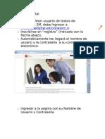 Instructivo Ingreso Aula Digital Ediciones SM