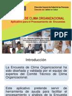 Aplicativo de Clima Organizacional (EDCO)