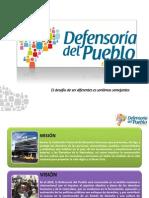 Presentación Defensoría del Pueblo
