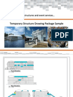 Temporary Structure Drawing Package Sample From Condit Exhibits