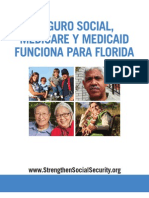Social Security, Medicare and Medicaid Work For Florida (Spanish) 2012