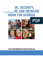 Social Security, Medicare and Medicaid Work For Georgia 2012