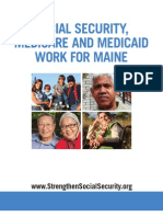 Social Security, Medicare and Medicaid Work For Maine 2012
