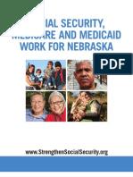 Social Security, Medicare and Medicaid Work For Nebraska 2012