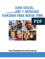 Social Security, Medicare and Medicaid Work For New York (Spanish) 2012