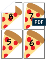 Pizza Numbers
