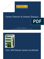 Career Options in Islamic Banking and Finance Presentation[1]