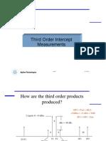 Third Order Intercept IOP3