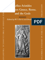 Aelius Aristides Between Greece Rome, And the Gods