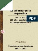 Alianza en Argentina-115 años