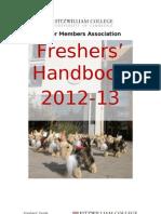 Freshers Handbook 2012