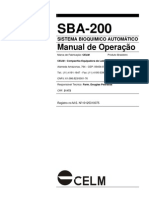 Celm - SBA200 User Manual