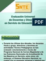 Linemaientos de Evaluación Universal