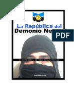 LA REPÚBLICA DEL DEMONIO NEGRO Una novela protesta en tiempos de revolución roja