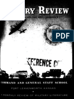 Military Review ~ Aug 1945