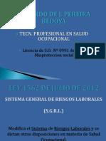 Sistema General de Riesgos Laborales - SG- SST