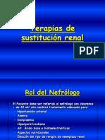 sustituciòn renal