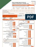 Boleta Censal INE 2012 (Capacitación)