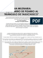DEL DAMERO DE PIZARRO AL TRIÁNGULO DE TAULICHUSCO - JAVIER LIZARZABURU