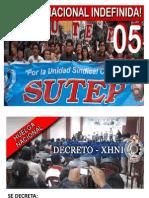 SUTEP DECRETA HUELGA NACIONAL PARA EL 5 DE SETIEMBRE 2012