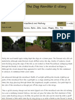 The Dog Rambler E-diary 20 August 2012