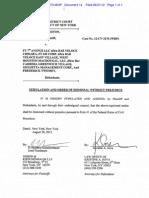 Dismissal of Bar Veloce suit