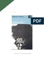 Plievier, Theodor - Trilog II G. Mundial (1945) - Stalingrado [R1]