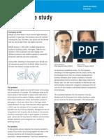 BSkyB Case Study