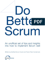 Do Better Scrum