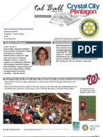 Aug 22, 2012 Weekly Bulletin - Crystal City-Pentagon Rotary Club