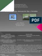 Presentación Atenuacion Fija y Variable
