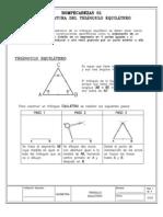La Cuadratura Del Triangulo Equilatero
