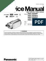 8516902-Panasonic Hdc-Sd5 Series Service Manual Repair Guide
