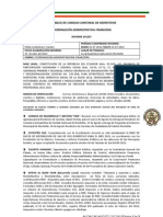 INFORME COORDINACION ADM FINANCIERA AUCM JULIO 2012