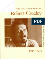 Robert Creeley, Collected Poems 1945-1975
