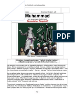 MUHAMMAD A PROBE BY CHRISTIANS
