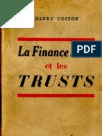 Henry Coston - La Finance Juive Et Les Trusts