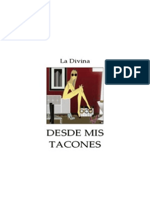 Mis Word Tacones Divina La Desde 9EDH2I