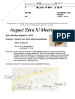 ZetaXiAugust 2012 Newsletter
