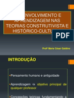 DESENVOLVIMENTO E APRENDIZAGEM NAS TEORIAS CONSTRUTIVISTA E HISTÓRICO-CULTURAL