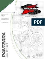 Pantera 50cc Yellow Scooter Manual