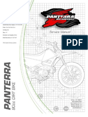 Pantera 50cc Yellow Scooter Manual     Exhaust Gas on