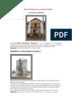 MONUMENTOS HISTÓRICOS DE LA CIUDAD DE SUCRE-MAY