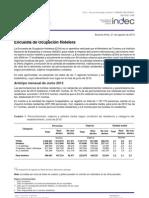 INDEC - Encuesta de Ocupación Hotelera (EOH) [Junio 2012]