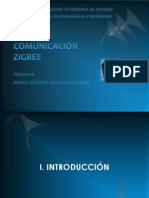 COMUNICACIÓN ZIGBEE