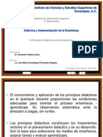 02 PPT - de los 8 Principios Didácticos de la Enseñanza