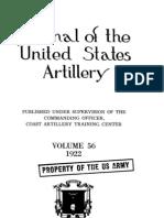 Coast Artillery Journal - Jan 1922